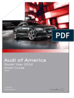 Audi Order Guide 2014 USA (Retail)