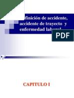 accidente de trabajo, de trayecto y enfermedad laboral.ppt