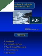 Enrique Silva V. - Potencial de la Energía Mareomotriz en Chile (Mayo 2009)