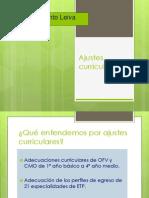 Ajustes Curriculares Reinaldo Pinto