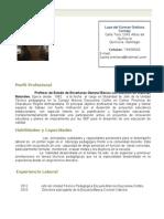 Curriculum Vitae 2012