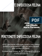 PIF - Peritonite Infecciosa Felina