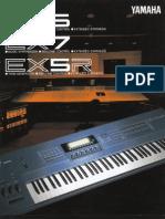 Yamaha EX5 EX7 Brochure