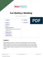 Car Battery Welding
