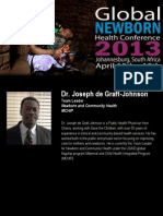 Dr. Joseph de Graft-Johnson