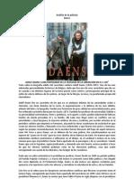 Análisis de la película Daens