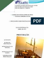 LINGUAGEM E ARGUMENTAÇÃO JURIDICA
