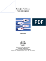 Buku Petunjuk Prakt. Farmasi Klinik 2013