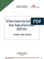 Ncbts Tsna Guide and Tools