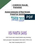 Rancangan Strategik Panitia Sains Tahun 2012