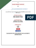 fmcg marketing project