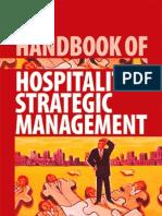 Handbook of Hospitality