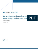 1 Proximity Based Mobile Social Networking Outlook and Analysis 130220011924 Phpapp02