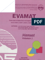 Manual Evamat Vol.1