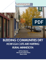 Bleeding Communities Dry