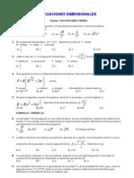 ecuaciones dimensionales