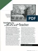 Artist Teacher Daichendt1