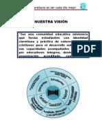 visión y misión claretiano