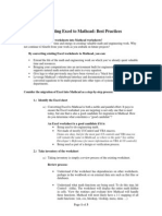 Excel 2 Mathcad