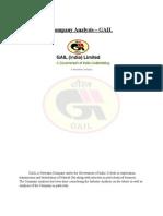 GAIL India CompanyAnalysis923492384