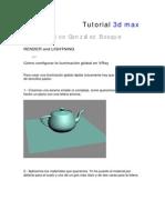 Tutorial Render 3dmax (Muy Bueno Vray)(3)