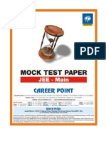 Cp Jee Main Mock Paper Only Ques