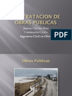 Contratacion de Obras Publicas