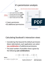Facebook Permissions Analysis