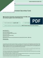 BNP Paribas Government Securities Fund