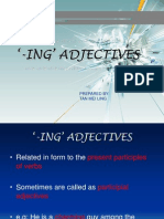 ING' ADJECTIVES