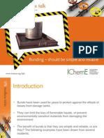 IChemE_Presentation_LPB Toolbox Talk_Bunding Should Be Simple & Reliable