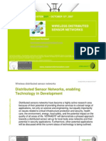 Wireless Distributed Sensor Networksverhaer