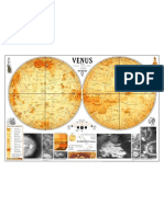 Map of Venus