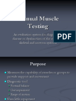 Manual Muscle Testing ppt