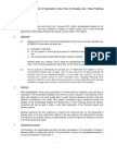 Standardised Documentation for Description of Key Terms for Housing Loan / Home Financing Agreements