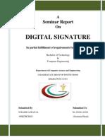 Digital Signature Project Report