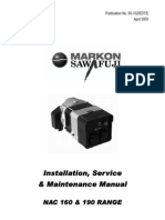Manual Markon NAC160 NAC190