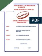 RADIOLOGÍA DE QUISTES DE LOS MAXILARES.