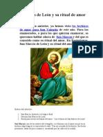 San Marcos de León y su ritual de amor