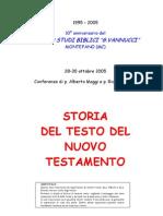 Conferenza Incontro Padre Alberto Maggi Studi Biblici Bibbia Storia Del Testo Del Nuovo Testamento