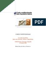 Premio Chiarelli - Intervento Del Prof. Zagrebelsky