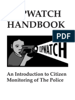 Berkeley Copwatch Handbook