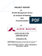 AXIS BANK-Wealth management