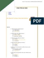 Quiz_ John Osborne