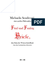 Michael Sendivogius - 55 Briefe