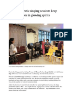 Weekly operatic singing sessions keep retired seniors in glowing spirits by Zheng Jiayin