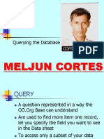MELJUN CORTES Querying Database