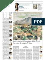 IL MUSEO DEL MONDO 16 - La montagna Sainte-Victoire di Paul Cézanne (1904-1906) - La Repubblica 14.04.2013