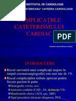 Complicatiile coronaroangiografiei
