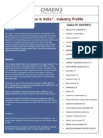 Oil & Gas in India - Industry Profile
